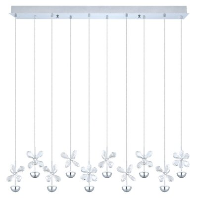 Purcell 10-Light Kitchen Island Pendant