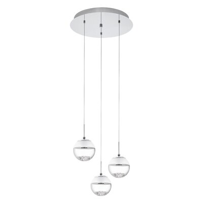 Dalila 3-Light Globe Pendant