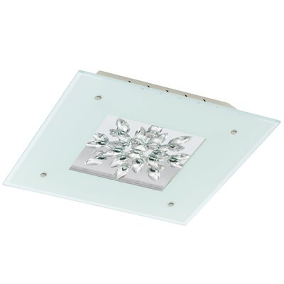 Les 1-Light Flush Mount