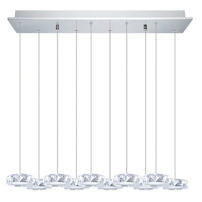 Awilda 10-Light Kitchen Island Pendant