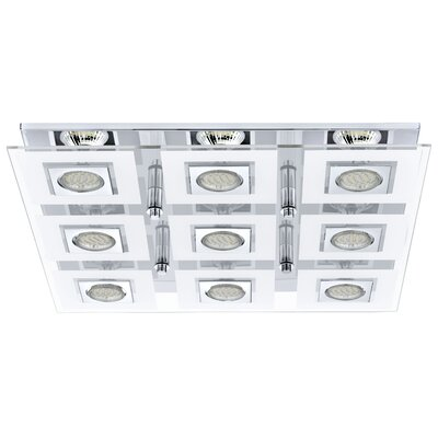 Matthias 9-Light Flush Mount