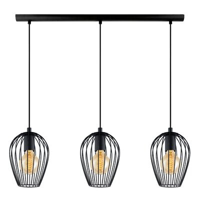 Newtown 3-Light Kitchen Island Pendant