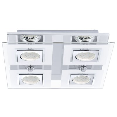 Matthias 4-Light Flush Mount