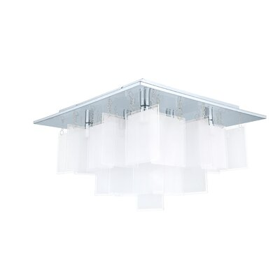Rachel 8-Light Semi Flush Mount
