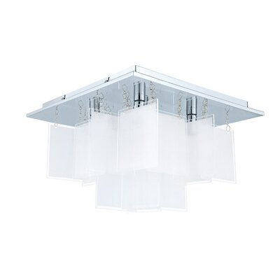 Brayden Studio Rachel 5-Light Semi Flush Mount