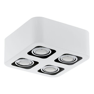 Mouron 4-Light Flush Mount