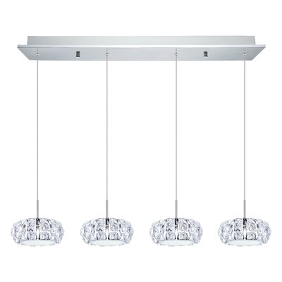 Awilda 4-Light Kitchen Island Pendant