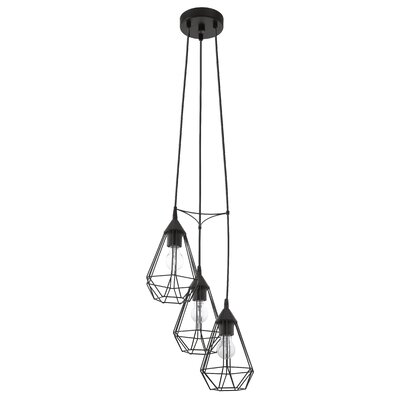 Taplin 3-Light Cascade Pendant