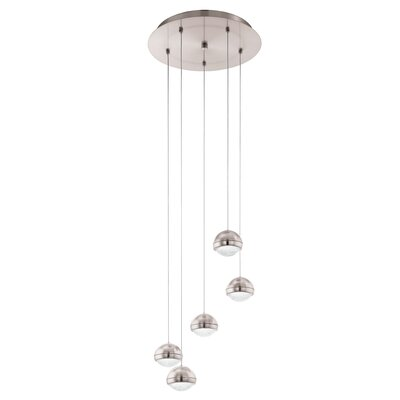 Bernetta 5-Light Cascade Pendant