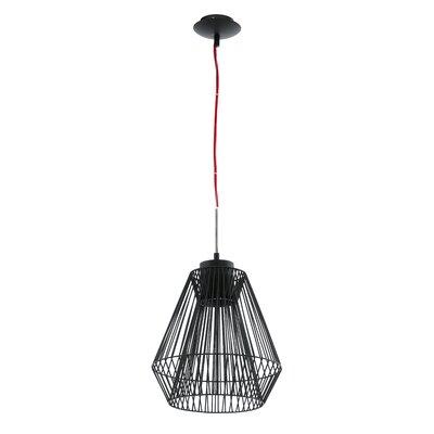 Emma Wire Cage 1-Light Geometric Pendant