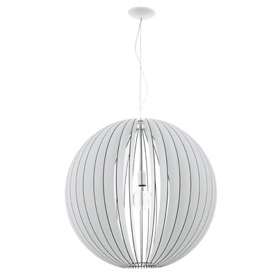 Waltham 1-Light Globe Pendant