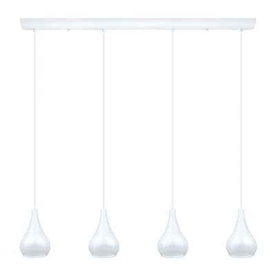 Jarra 4-Light Kitchen Island Pendant