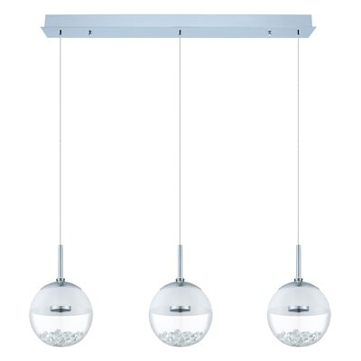 Dalila 3-Light Kitchen Island Pendant