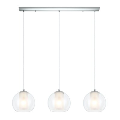 Bolsano 3-Light Kitchen Island Pendant