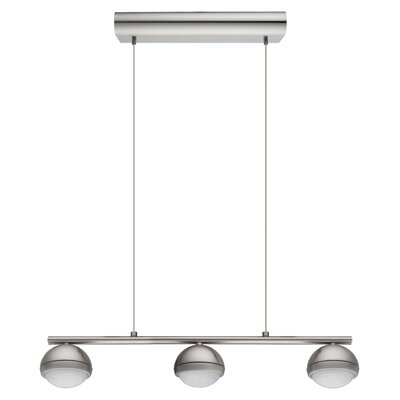 Bernetta 3-Light Kitchen Island Pendant
