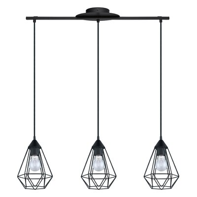 Taplin 3-Light Kitchen Island Pendant