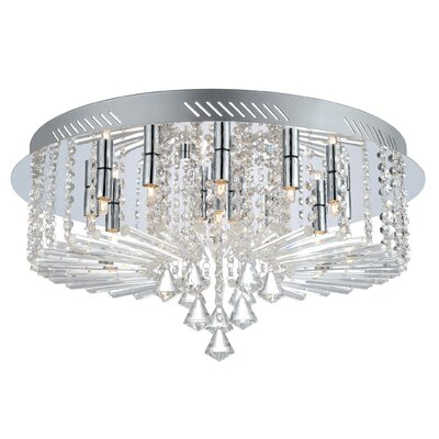 Hudson 15-Light Flush Mount
