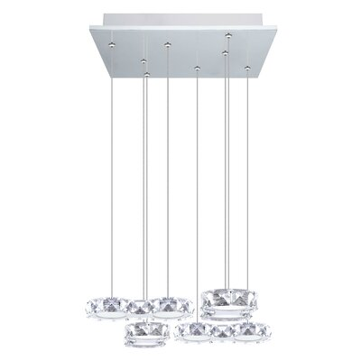 Awilda 8-Light Cascade Pendant