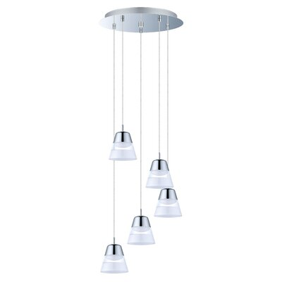 Merlene 5-Light Cascade Pendant
