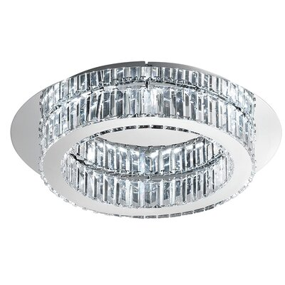 Awilda 1-Light Flush Mount