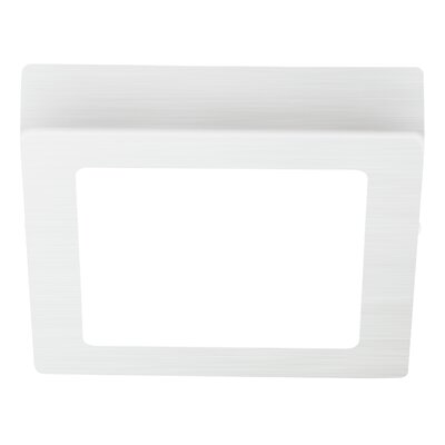 Marcia 1-Light Flush Mount Finish: White