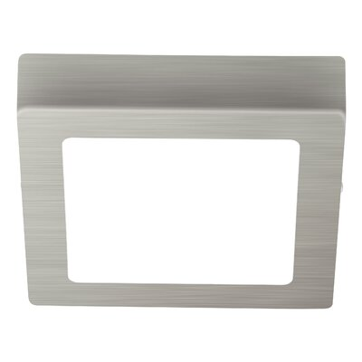 Marcia 1-Light Flush Mount Finish: Matte Nickel