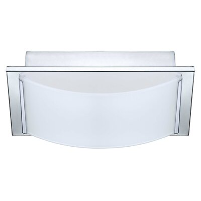 Aleen 1-Light Flush Mount Finish: Chrome