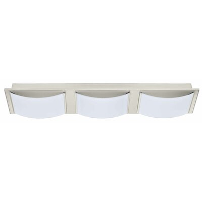 Aleen 3-Light Flush Mount Finish: Matte Nickel