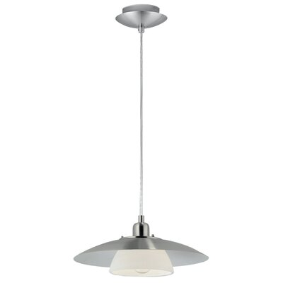 Heid 1-Light Mini Pendant Finish: Matte Nickel