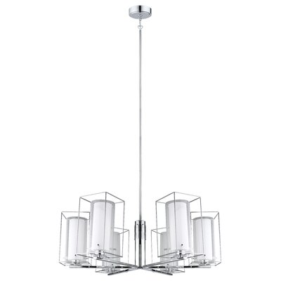 Dorla 6-Light Shaded Chandelier
