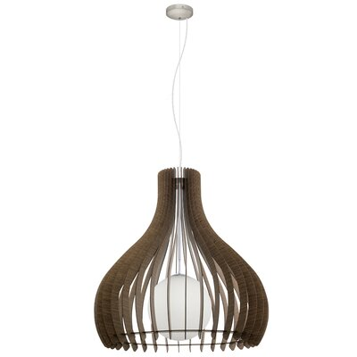 Washington 1-Light Inverted Pendant Size: 72 H x 31.5 W x 31.5 D
