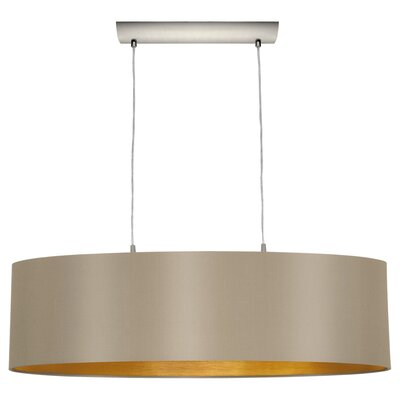 Newville 2-Light Drum Pendant