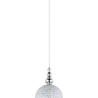 Morrow 1-Light Mini Pendant Size: 72 H x 9.84 W x 9.84 D