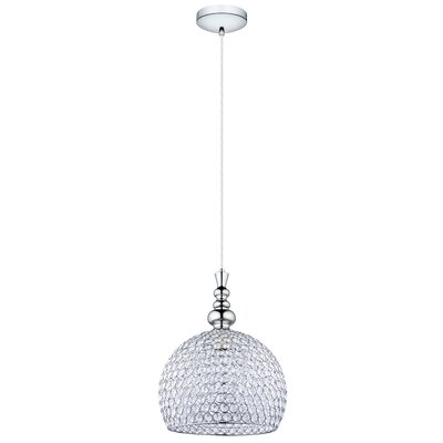 Morrow 1-Light Mini Pendant Size: 72 H x 11.81 W x 11.81 D