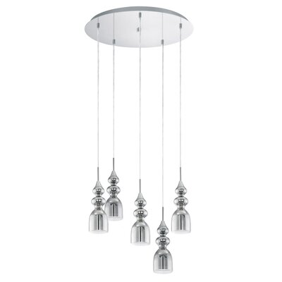 Wardlaw 5-Light Cascade Pendant