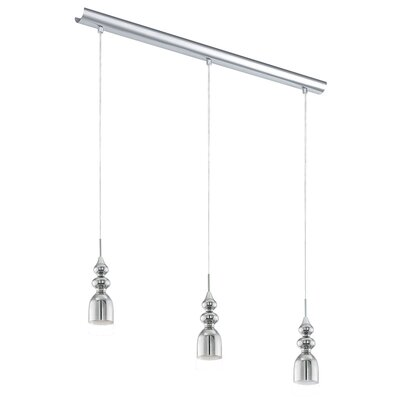 Wardlaw 3-Light Cascade Pendant
