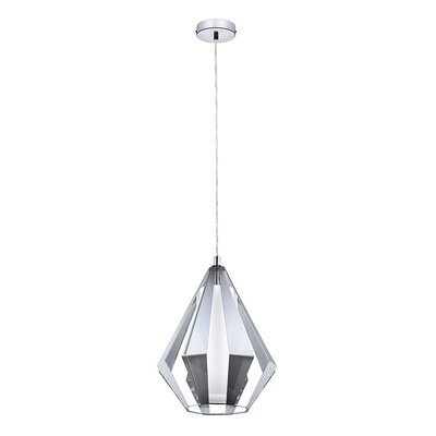 Chamaeleon 1-Light Mini Pendant Finish: Shiny Chrome