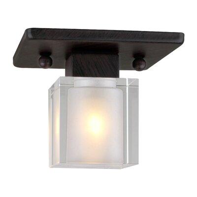 Arney 1-Light Semi Flush Mount