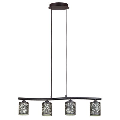 Malchow 4-Light Kitchen Island Pendant