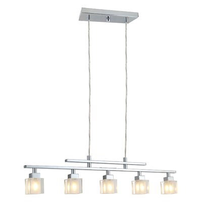Arnette 5-Light Kitchen Island Pendant