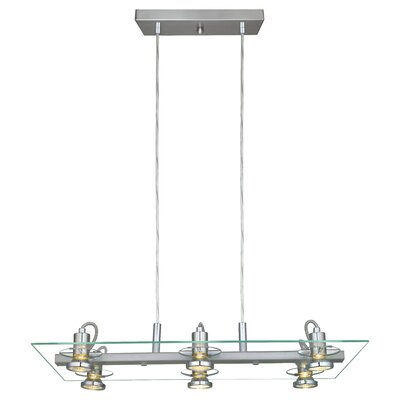 Maddox 6-Light Kitchen Island Pendant