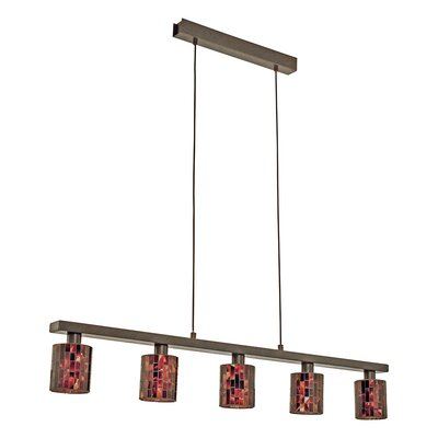 Ebaugh 5-Light Kitchen Island Pendant