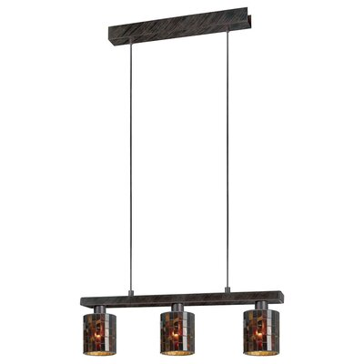 Ebaugh 3-Light Kitchen Island Pendant