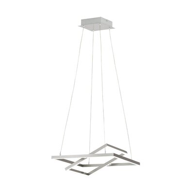 Mccloud Double Square LED Geometric Pendant