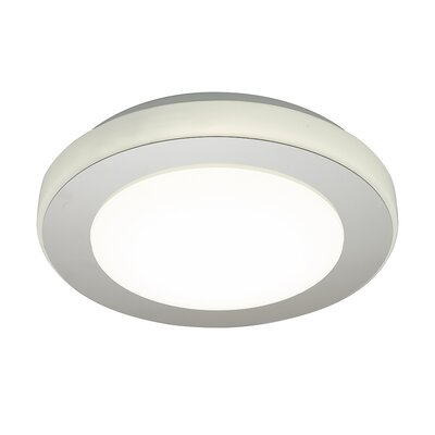 Mccluney Modern 1-Light LED Flush Mount