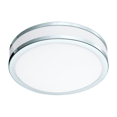 Mcclinton 2-Light LED Flush Mount Size: 3.31 H x 11.02 W x 11.02 D