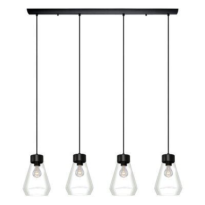 Daniell 4-Light Kitchen Island Pendant