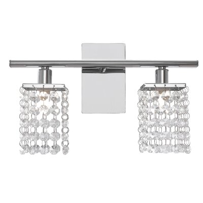 Lead Crystal Bathroom Light | Wayfair