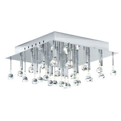 Soraya 16-Light Flush Mount