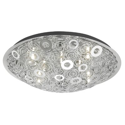Cromer 12-Light Flush Mount